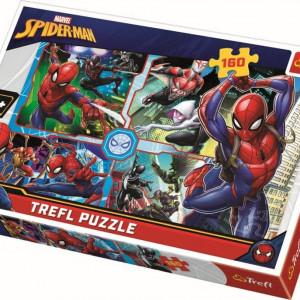 Puzzle Trefl, Spiderman salvatorul, 160 piese