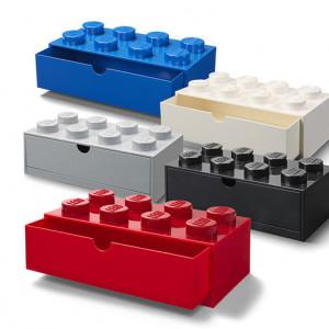 Sertar de birou LEGO 2x4 negru