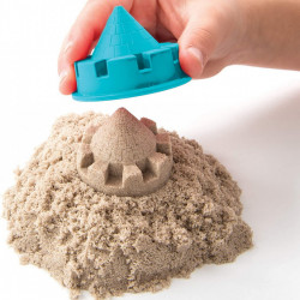 Set Kinetic Sand - Folding sand box, cu accesorii, 900g