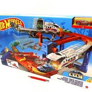 Set Pista Hot Wheels Stunt Train Express