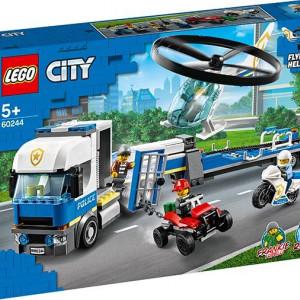 Transportul elicopterului de politie