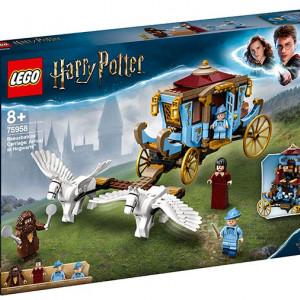 Trasura lui Beauxbatons: Sosire la Hogwarts