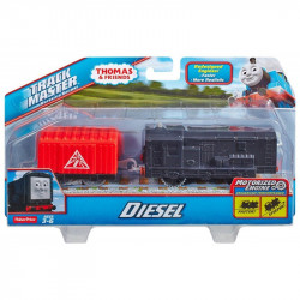 Trenulet Diesel Locomotiva Motorizata cu Vagon Thomas&Friends