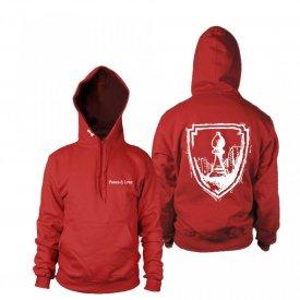 "Hanorac Logo Nou ""Red"""