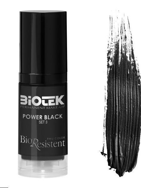 pigment power black (negru intens)
