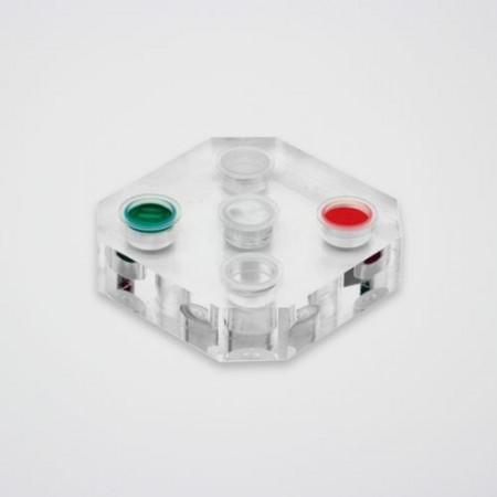 Suport plexiglas capsule pigment