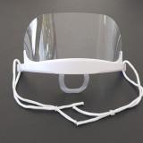 Masca de protectie din plastic transparent