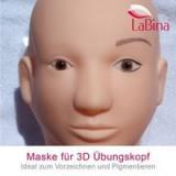 Cap manechin 3D cu masca