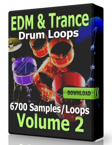 EDM and Trance Drum Loops Collection Volume 2 Download