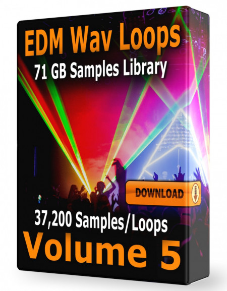 EDM Loops Volume 5 Collection Download 37.200 Samples