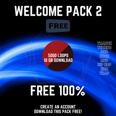 February Free Sample Pack - 10 GB Download 5000 Loops