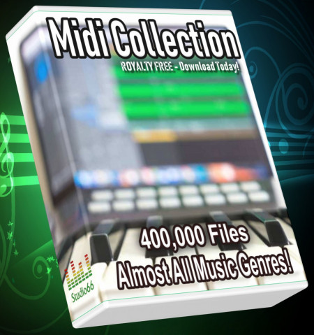 400.100 Midi Collection - Almost All Music Genres