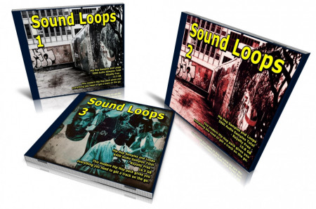 Hip Hop Bundle: Sound Loops 1, 2 and 3 Collection