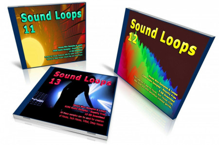 HOUSE Bundle: Sound Loops 11, 12 and 13 Collection