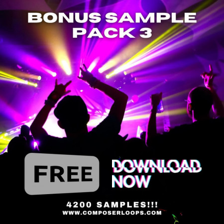 March Free Sample Pack - 8 GB Download 4300 Loops