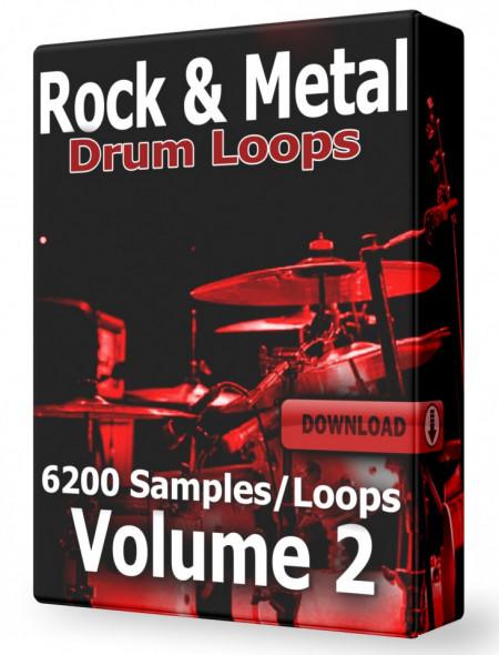 Rock & Metal Drum Loops Volume 2 Download