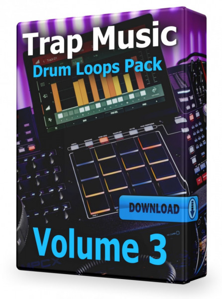 Trap Drum Loops Volume 3 Download