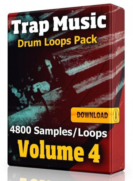 Trap Drum Loops Volume 4 Download