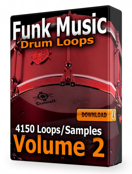 Funk Drum Loops Collection Volume 2 Download