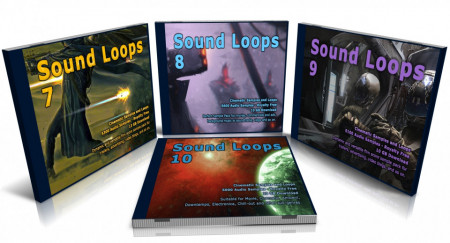 Cinematic Bundle: Sound Loops 7, 8, 9 and 10 Collection
