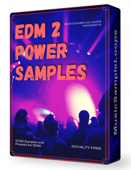 EDM Power Samples 2 Wav Loops