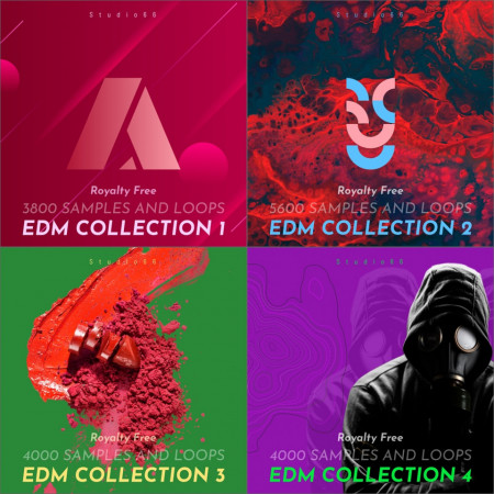 EDM WAV Loops Red Ultimate Collection
