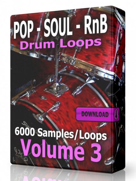 Pop Soul and RnB Drum Loops Volume 3 Download