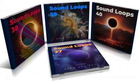 DnB Bundle: Sound Loops 37, 38, 39 and 40 Collection