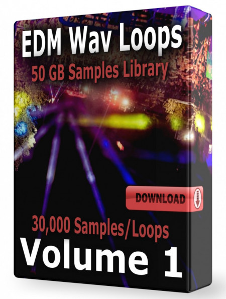 EDM Loops Volume 1 Collection Download 30.500 Samples