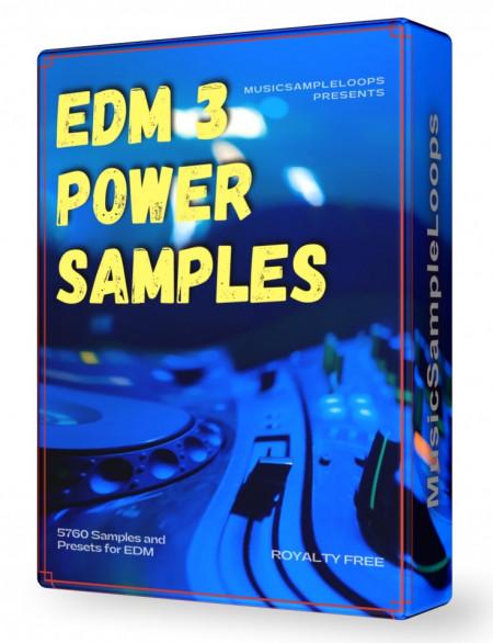 EDM Power Samples 3 Wav Loops