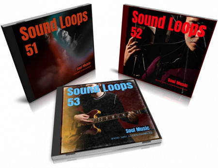 Soul Bundle: Sound Loops 51, 52 and 53 Collection