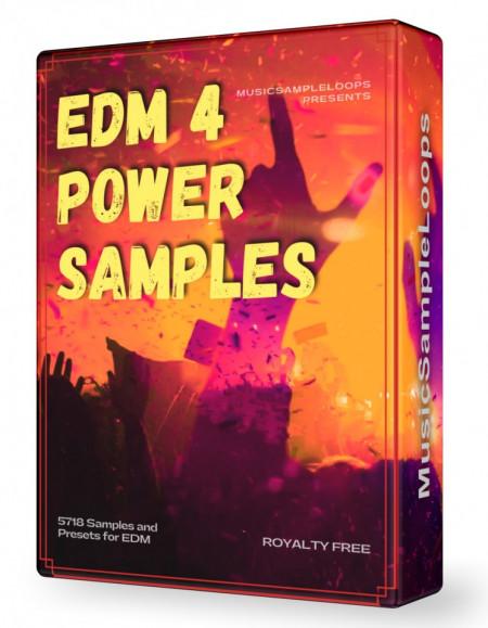 EDM Power Samples 4 Wav Loops