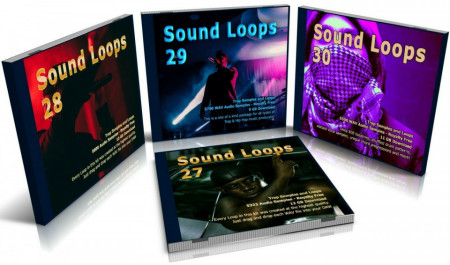 Trap Bundle: Sound Loops 27, 28, 29 and 30 Collection