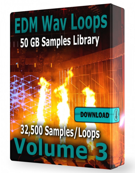 EDM Loops Volume 3 Collection Download 32.500 Samples