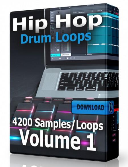 Hip Hop Drum Loops Volume 1 Download