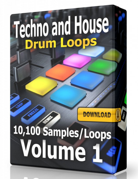 Techno and House Drum Loops Collection Volume 1 Download