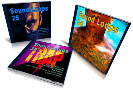 Trap Bundle: Sound Loops 24, 25 and 26 Collection