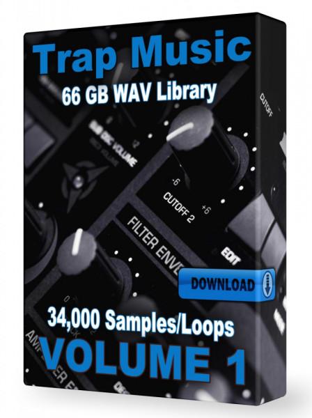 Trap WAV Samples Loops Volume 1 Download 34,000+ Loops and Samples