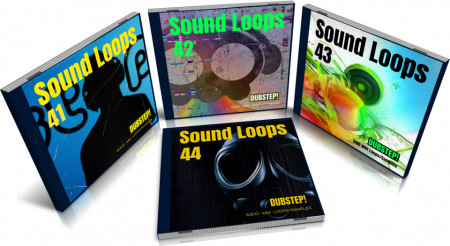 Dubstep Bundle: Sound Loops 41, 42, 43 and 44 Collection
