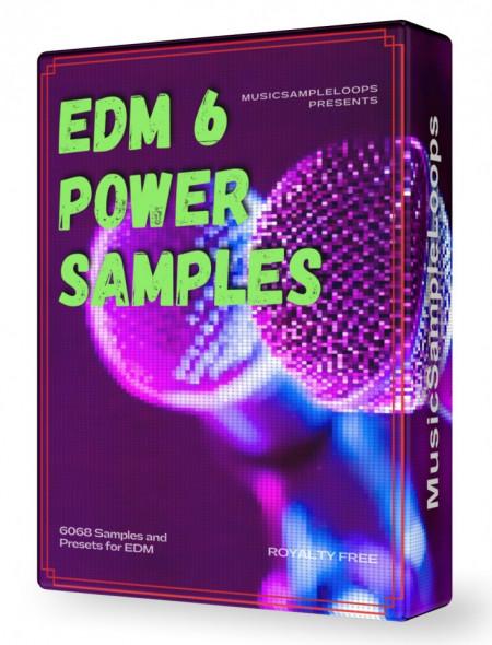 EDM Power Samples 6 Wav Loops