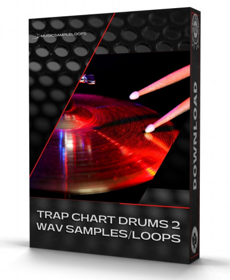 Trap Chart Drums 2 Samples