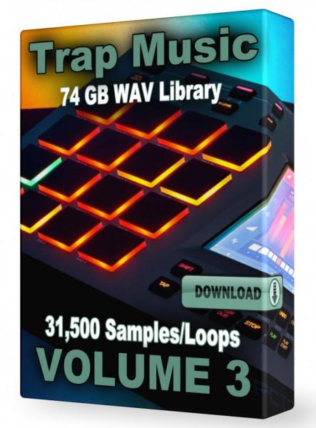 Trap WAV Samples Loops Volume 3 Download 31,500+ Loops and Samples