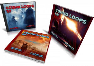 Cinematic Bundle: Sound Loops 57, 58 and 59 Collection
