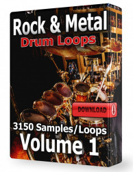 Rock & Metal Drum Loops Volume 1 Download