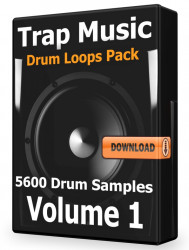 Trap Drum Loops Volume 1 Download