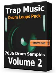 Trap Drum Loops Volume 2 Download