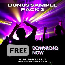 Volume 3 Free Sample Pack - 8 GB Download 4300 Loops