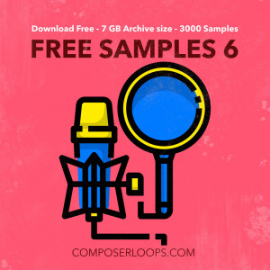 Volume 6 Free Sample Pack - 8 GB Download 3300 Samples