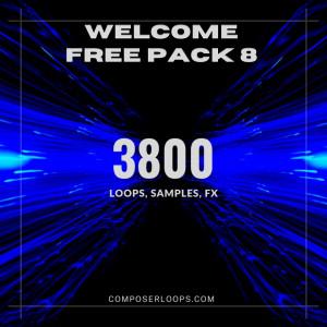 Volume 8 Free Sample Pack - 3800 Samples, Loops, Beats