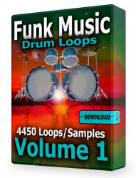Funk Drum Loops Collection Volume 1 Download
